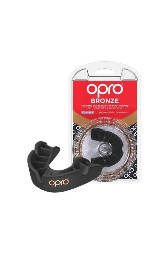 Капа OPRO Bronze Black