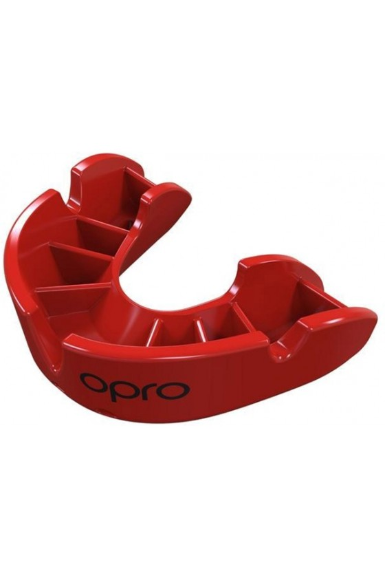 Капа OPRO Junior Bronze Red
