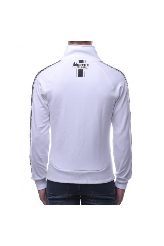 Олімпійка біла з емблемою на грудях