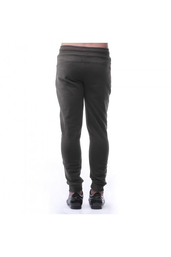 Спортивные штаны army с камуфляжным логотипом сбоку