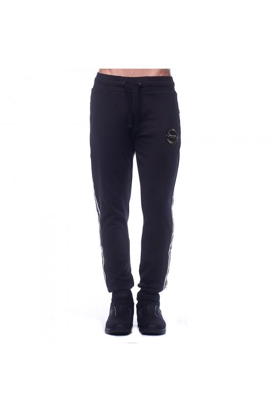 Спортивные штаны черные с...