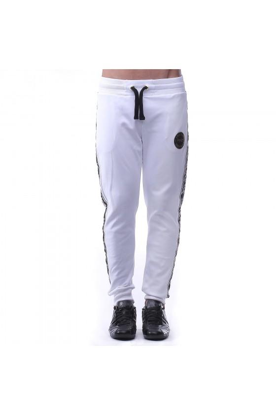 Спортивные штаны белые с...