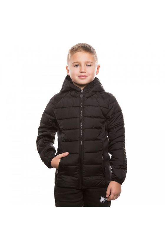 Детская куртка черная