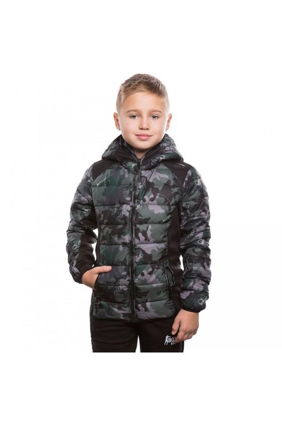 Дитяча куртка камуфляжна