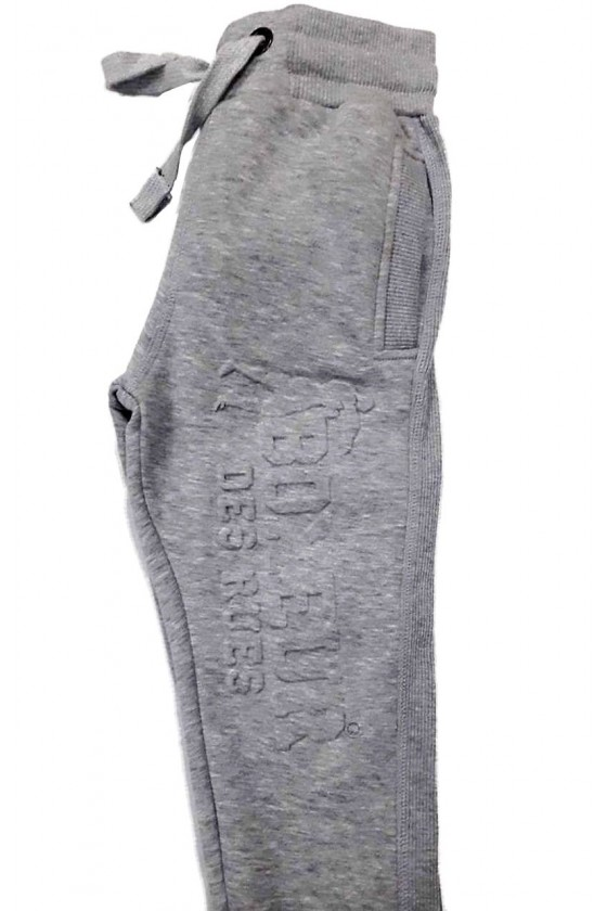 Дитячі штани з 3D принтом сірі