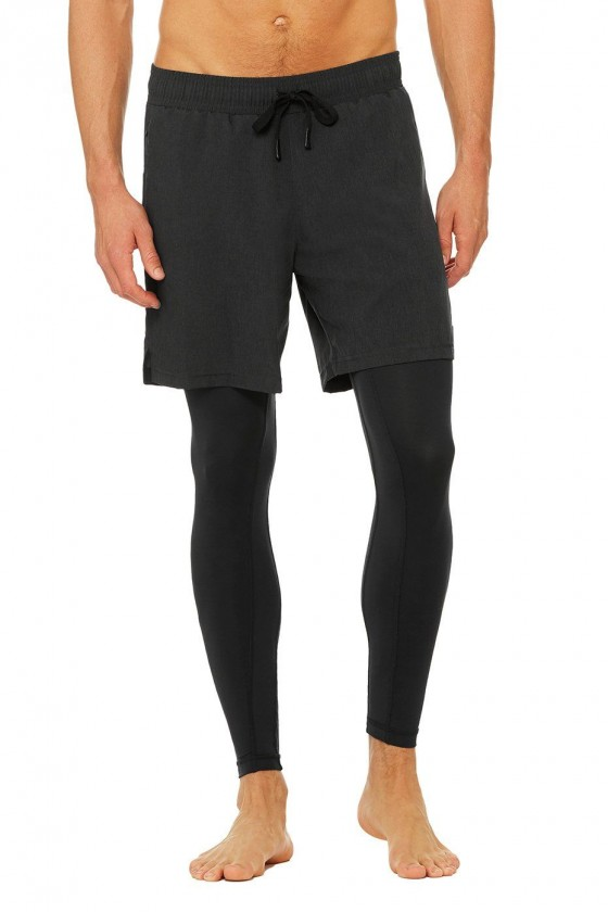 Компрессионные штаны+шорты...