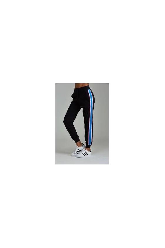 Женские спортивные штаны Chase Black/Azure