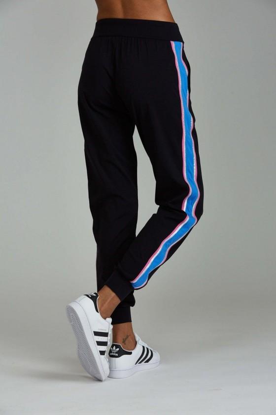 Жіночі спортивні штани Chase Black / Azure