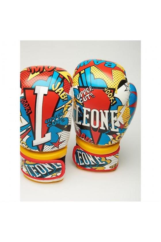 Детские боксерские перчатки Leone Hero белые