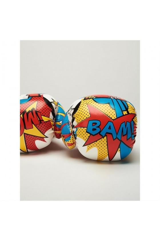 Дитячі боксерські рукавички Leone Hero білі