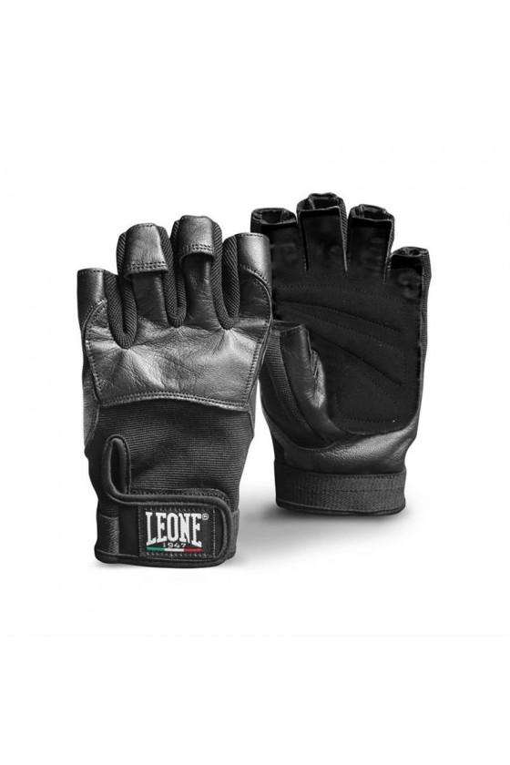 Перчатки для зала Leone черные