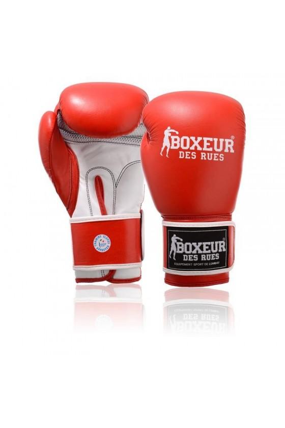 Боксерські рукавички червоні