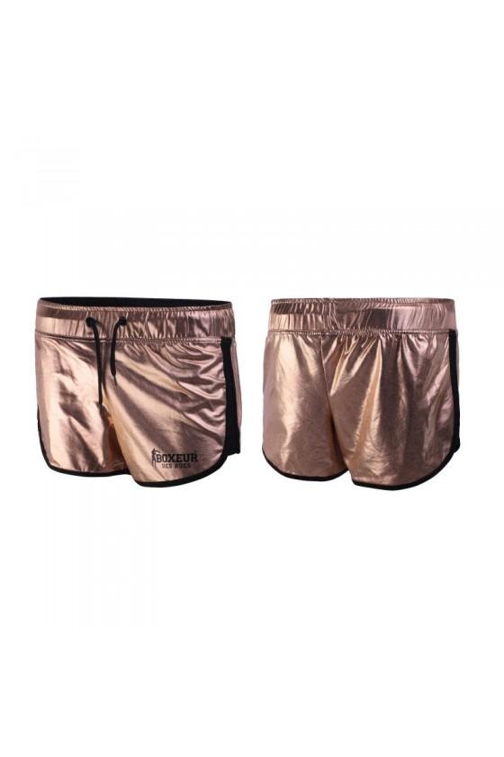 Жіночі спортивні шорти мідні
