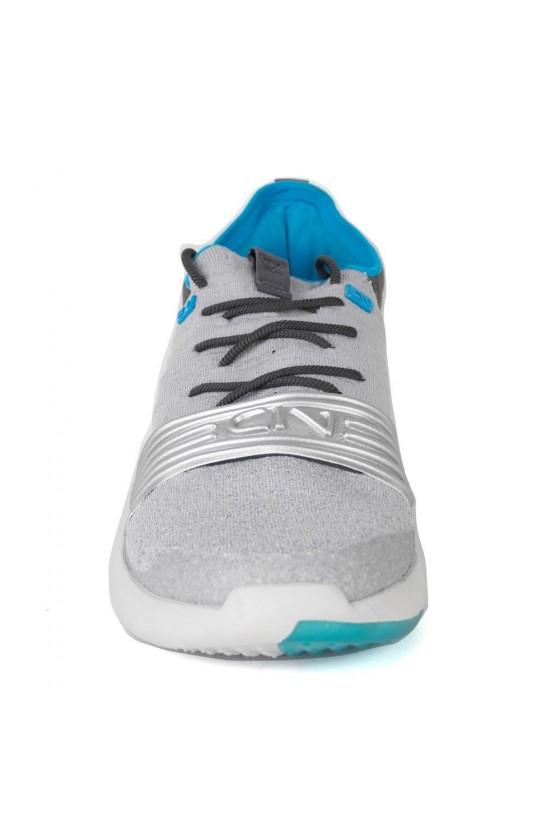 Кросівки Silver / Blue-Grey з смужкою