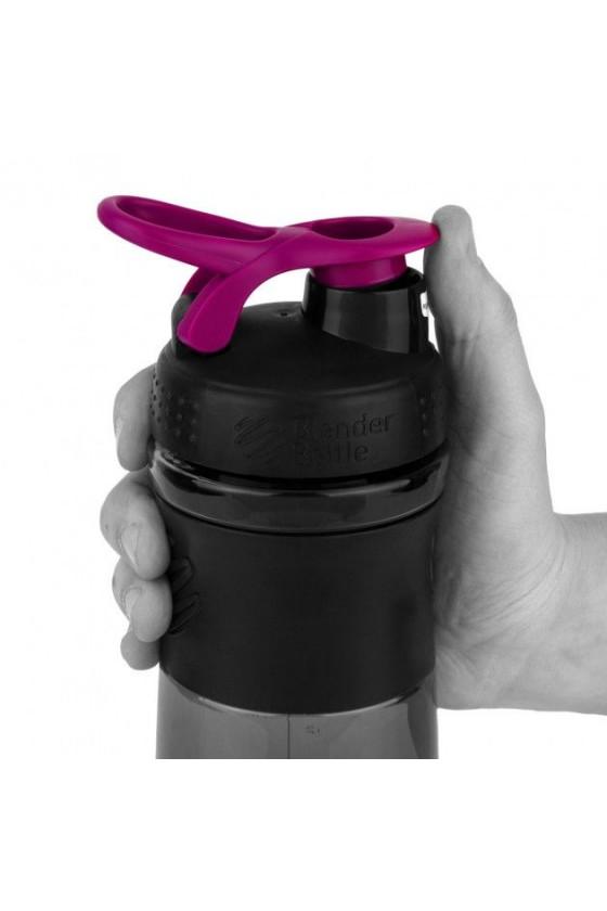 Шейкер BlenderBottle SportMixer з кулькою 820 мл Black / Pink