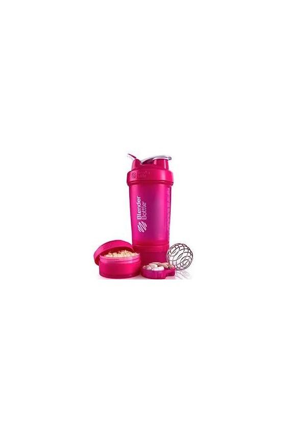 Шейкер BlenderBottle ProStak з кулькою 650 мл Pink
