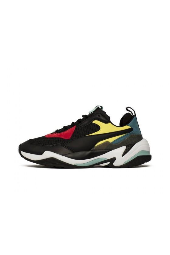 Мужские кроссовки puma THUNDER SPECTRA черные, красные, желтые