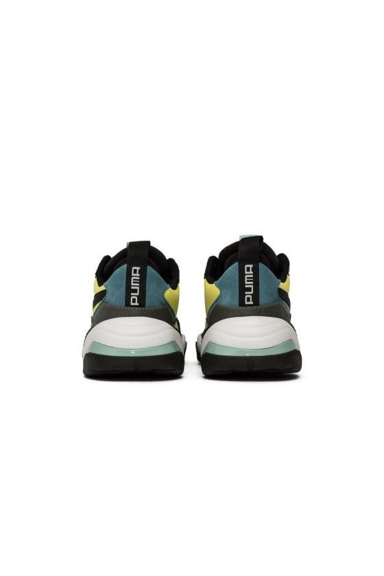 Чоловічі кросівки puma THUNDER SPECTRA чорні, червоні, жовті