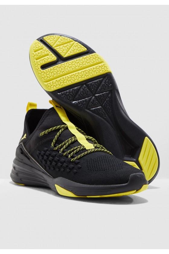Чоловічі кросівки puma MANTRA CAUTION чорні з жовтим