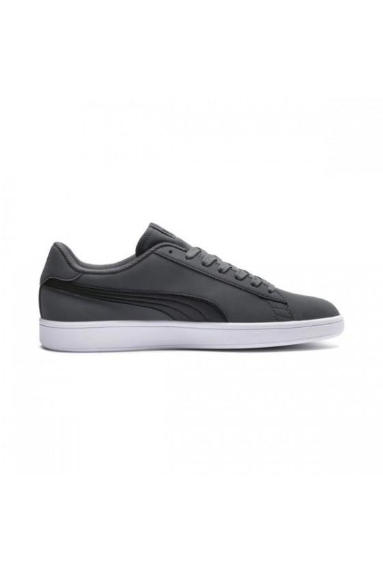 Чоловічі кросівки PUMA SMASH V2 BUCK сірі