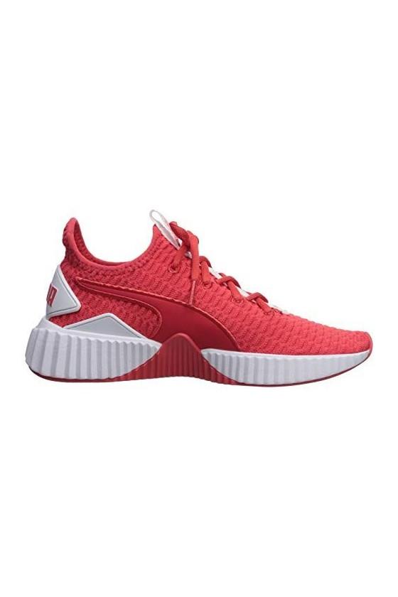 Женские кроссовки puma DEFY TZ WN'S красные