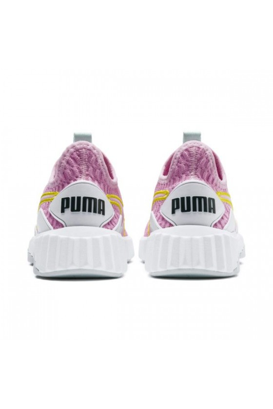 Детские кроссовки puma DEFY JR розовые