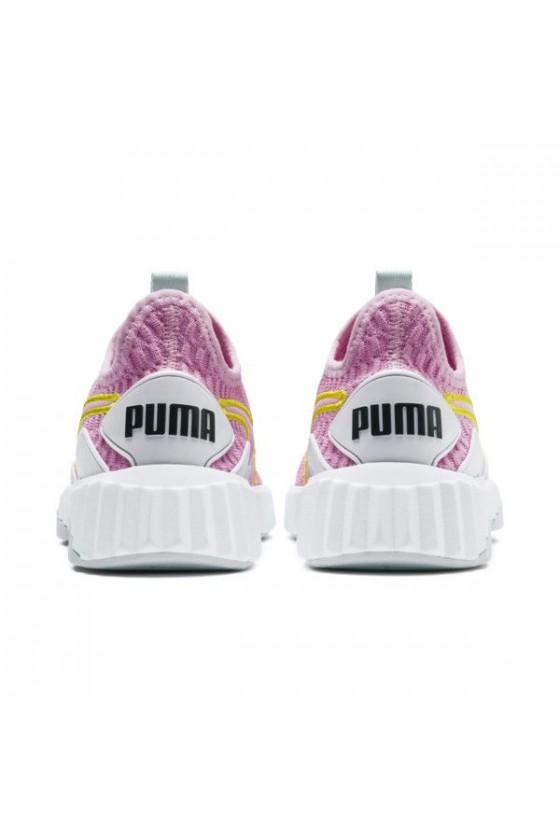 Дитячі кросівки puma DEFY JR рожеві