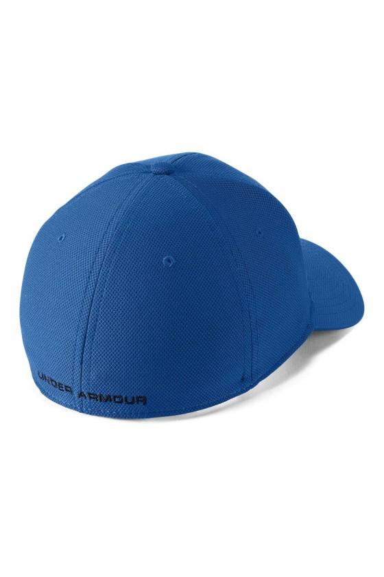 Бейсболка ярко-синяя с черным логотипом