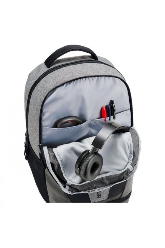 Рюкзак графитовый с черными...