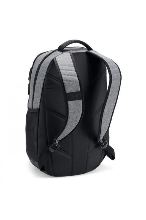 Рюкзак графітовий з чорними вставками