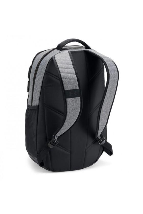 Рюкзак графитовый с черными вставками