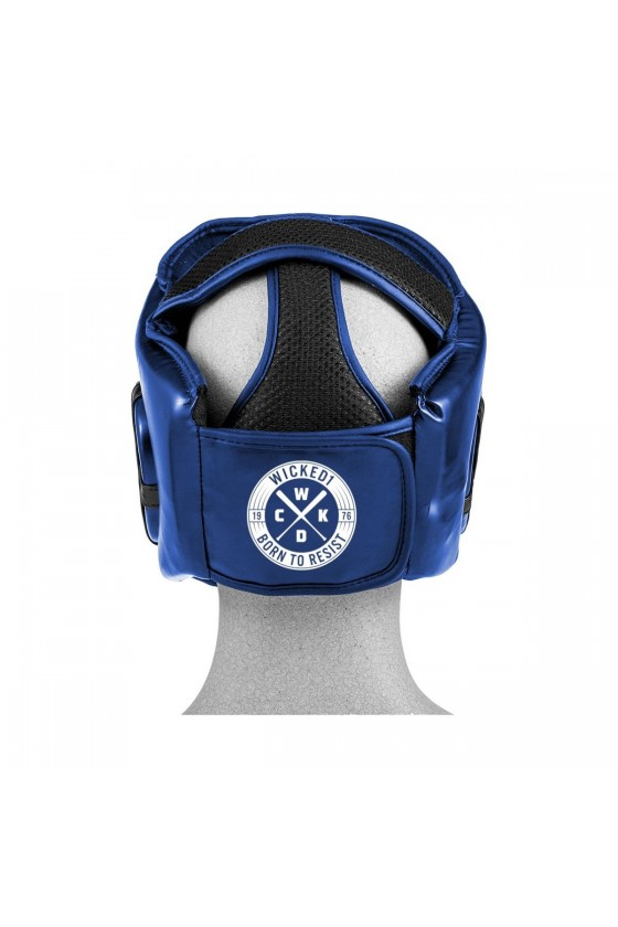 Боксерский шлем детский Energy синий