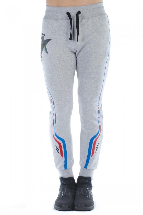 Спортивні штани з принтом 3...