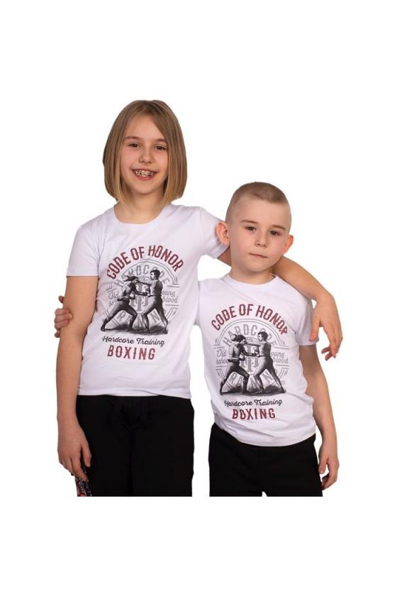 Детская футболка Hardcore Training Code Of Honor