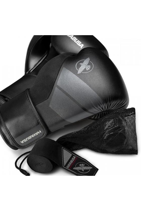 Боксерские перчатки Hayabusa S4 black