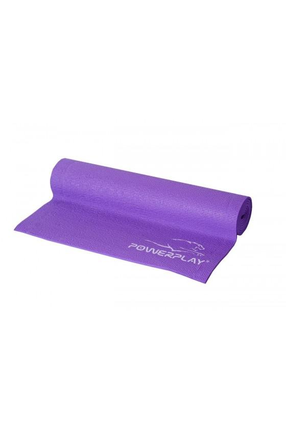 Килимок для фітнесу та йоги PowerPlay Фіолетовий