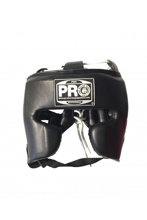 Боксерський шолом чорний
