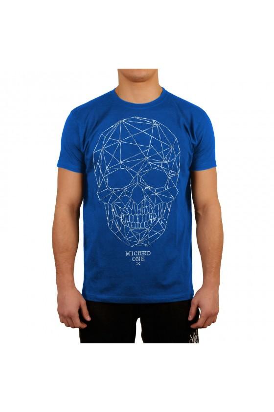 Футболка Skull Line синяя