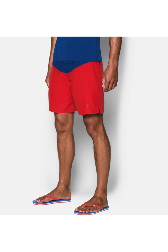 Спортивні шорти Baywatch червоні / сині