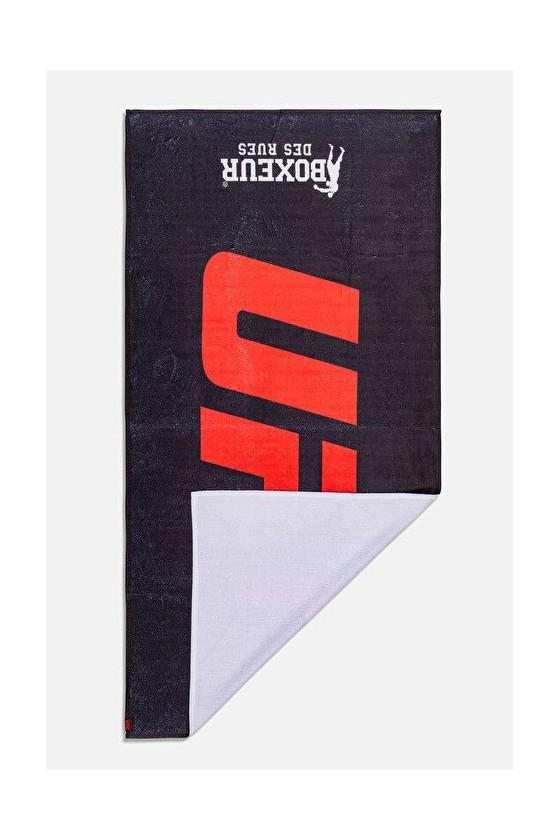 Полотенце UFC с сублимированным принтом черное