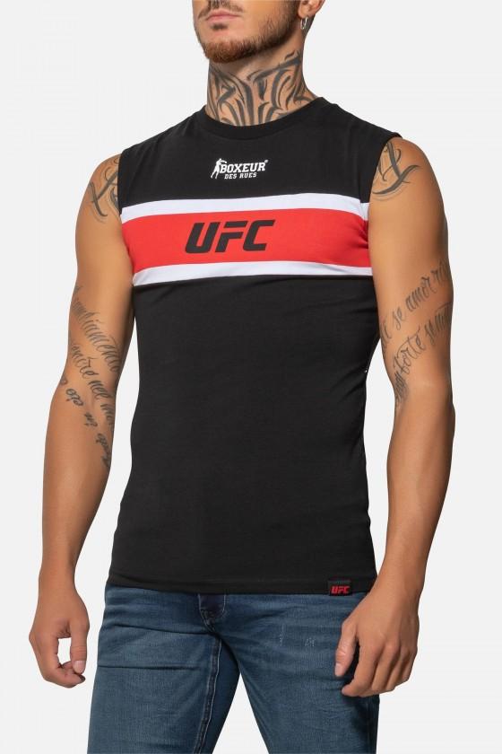Майка UFC з смужками чорна
