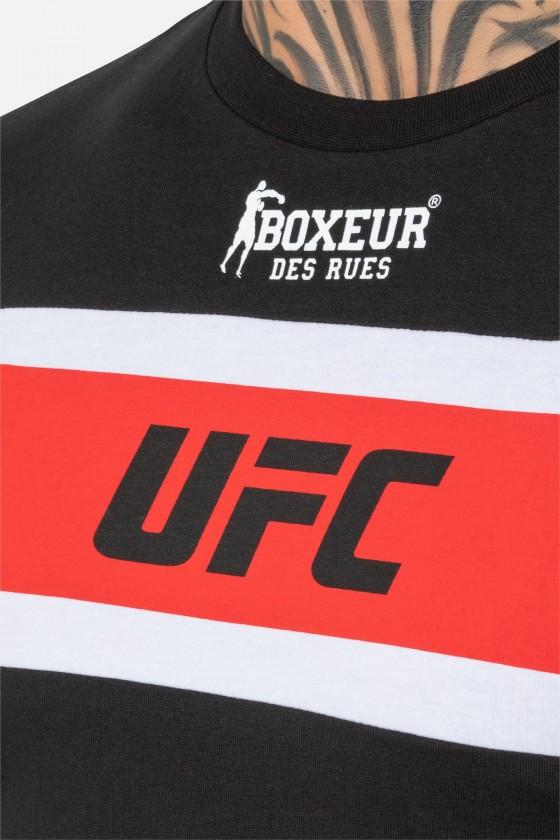 Футболка UFC з принтами чорна