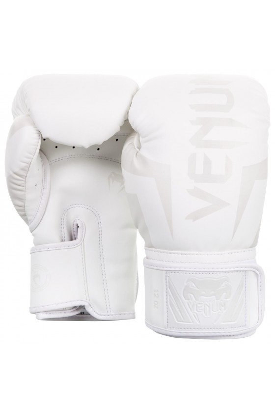 Боксерские перчатки Venum Elite White/White