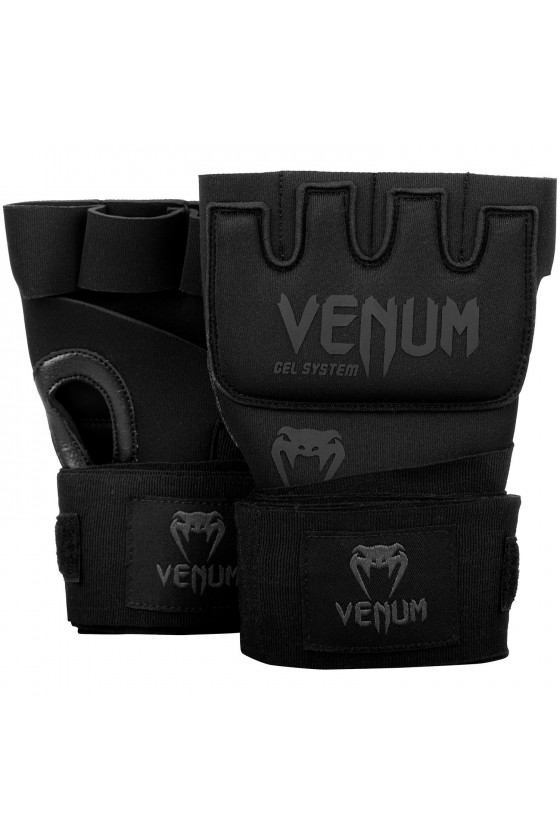 Гелеві бинти Venum Kontact Black / Black