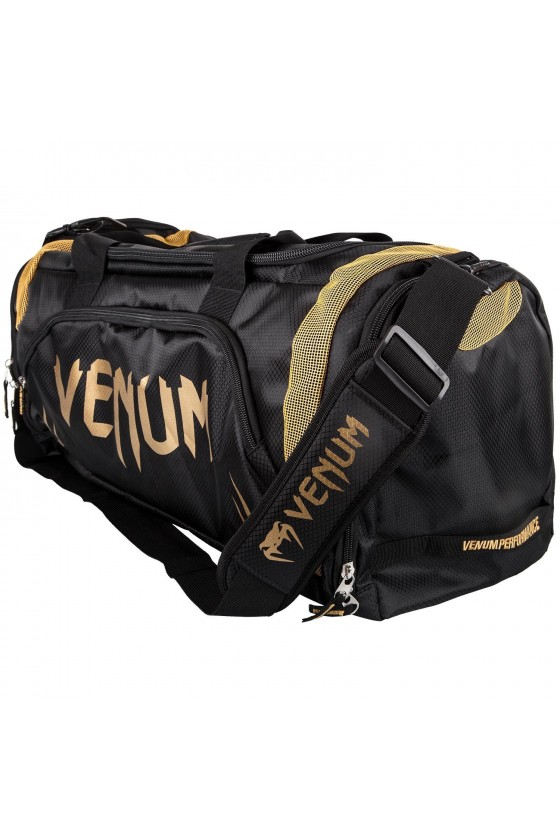 Спортивна сумка Venum Trainer Lite Black / Gold