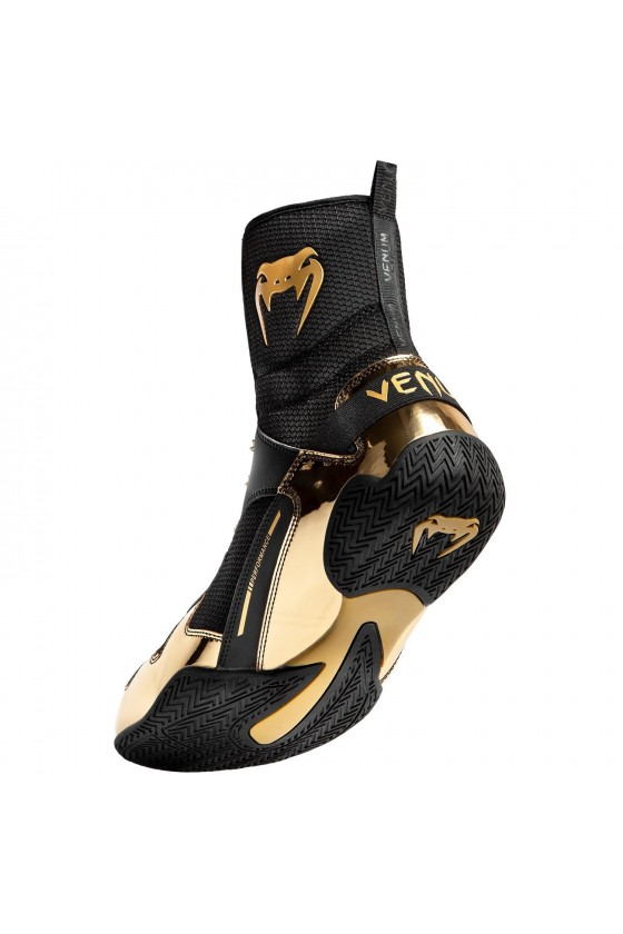 Боксерки Venum Elite Black/Gold