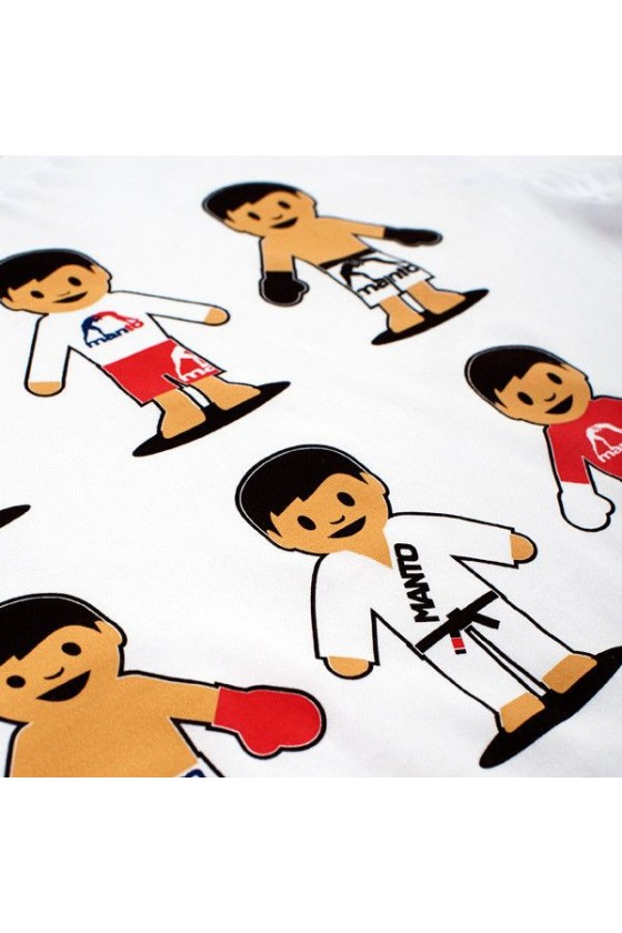 Футболка Manto Emoji белая