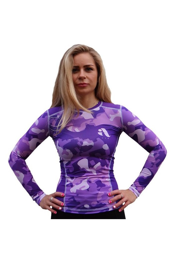 Жіночий рашгард Aim Military Uniqueness Skin Purple