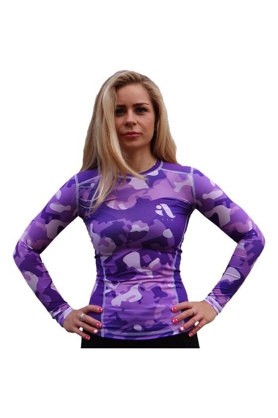 Женский рашгард Aim Military Uniqueness Skin Purple