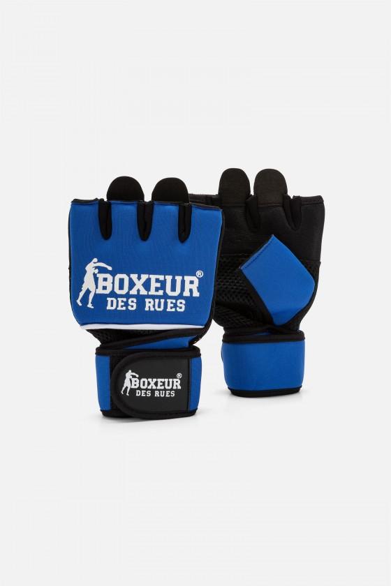 Гелевые перчатки голубые